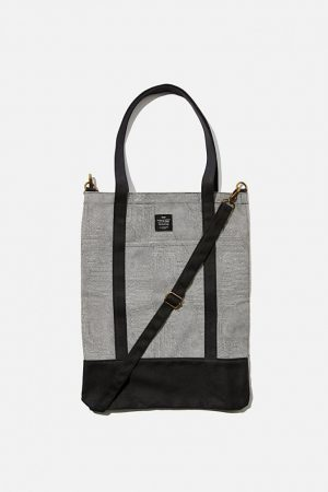 Cotton On Bags | Mens Book Tote Bag Splice Lines