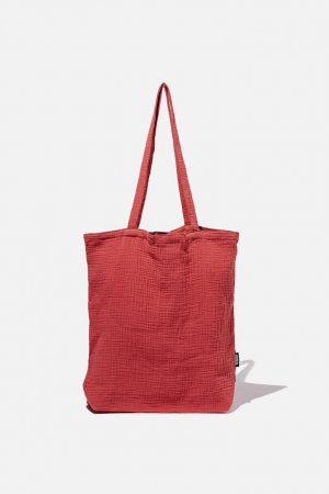 Cotton On Bags | Mens Foundation Fashion Tote Hot Sauce