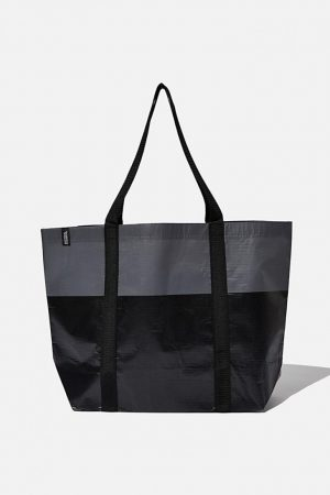 Cotton On Bags | Mens Foundation Recycled Large Shopper Black Tonal