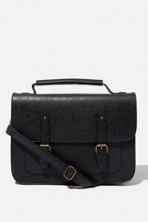 Cotton On Bags | Mens Milton Satchel Black