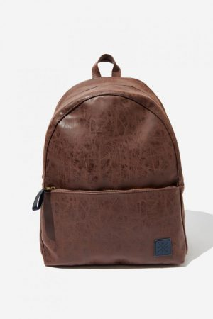 Cotton On Bags | Mens Scholar Backpack Rich Tan