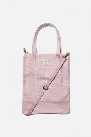 Cotton On Bags | Womens Book Tote Bag Heather Grid