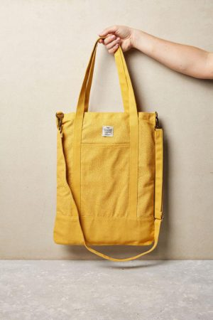 Cotton On Bags | Womens Book Tote Bag Mustard Micro Spot