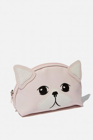 Cotton On Bags | Womens Cosmetic Bag Blush Cat