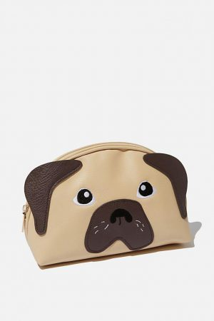 Cotton On Bags | Womens Cosmetic Bag Nuevo Pug