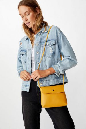 Cotton On Bags | Womens Felicity Cross Body Bag Mustard