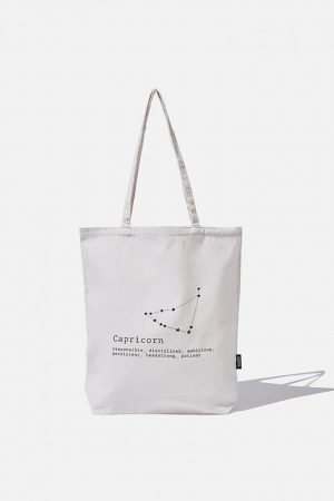 Cotton On Bags | Womens Foundation Online Exclusive Star Sign Tote Capricorn