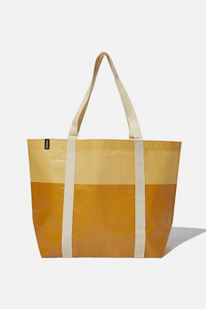 Cotton On Bags | Womens Foundation Recycled Large Shopper Mustard Tonal