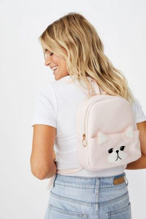 Cotton On Bags | Womens Mini Cairo Backpack Blush Cat