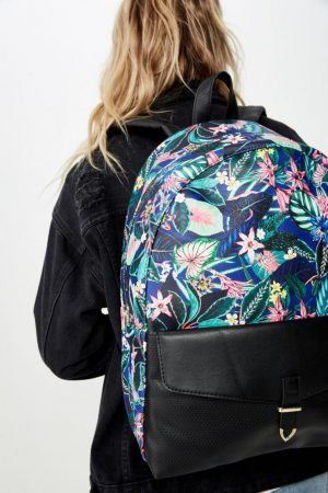Cotton On Bags | Womens Scholar Backpack Resort Floral