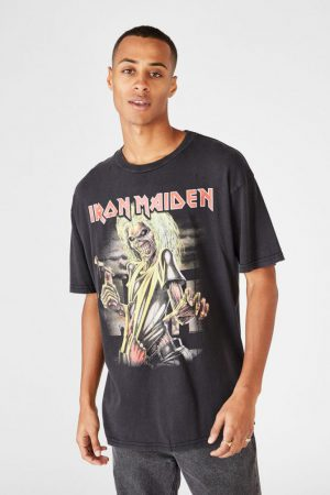 Cotton On Band | Mens Special Edition Tee Lcn Im Black/Iron Maiden – Killers