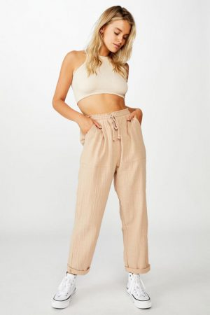 Cotton On Casual Pants | Womens Weekend Pant Nomad