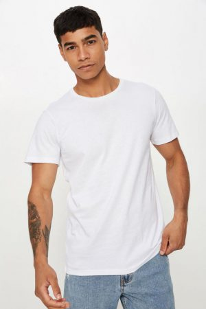 Cotton On Essential Tees | Mens Essential Crew Tee White