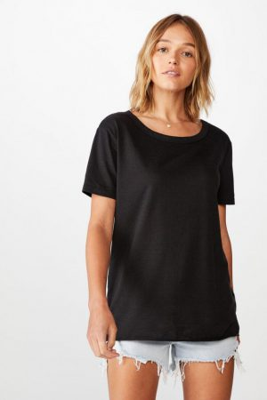 Cotton On Essential Tees | Womens The Heritage Tee Black