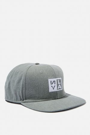 Cotton On Hats | Mens Art Snapback Washed Green/Ny-La Box Logo