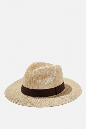 Cotton On Hats | Mens Wide Brim Summer Hat Off White