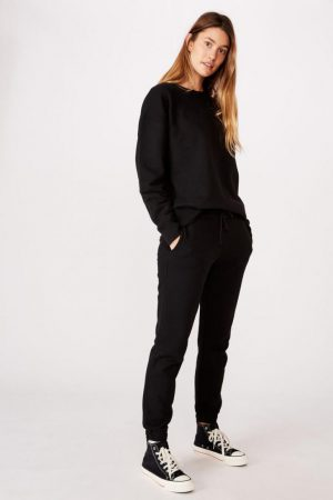 Cotton On Hoodies & Sweatshirts | Womens Dad Peached Maxi Crew Black