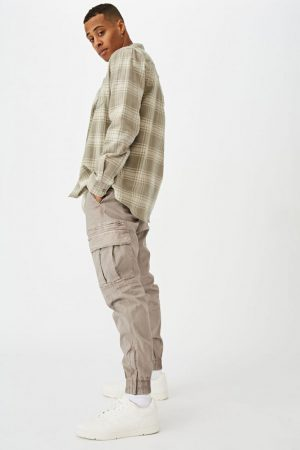 Cotton On Joggers | Mens Urban Jogger Duster Cloud