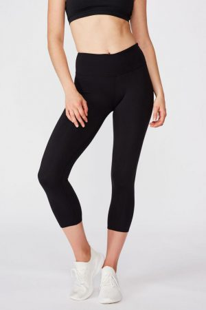 Cotton On Leggings | Womens Active Core 7/8 Tight Core Black