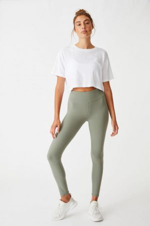 Cotton On Leggings | Womens Active Core Tight Core Steely Shadow