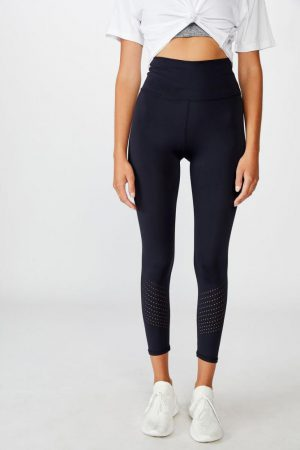 Cotton On Leggings | Womens Lifestyle 7/8 Tight Navy Lazer