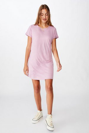 Cotton On Mini | Womens Tina Tshirt Dress 2 Orchid Hazz Marle