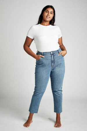 Cotton On Mom & Boyfriend | Womens Curve Taylor Mom Jean Boston Blue