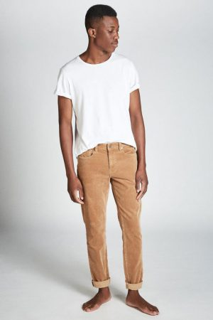 Cotton On Slim | Mens Slim Fit Jean Vintage Brown Cord