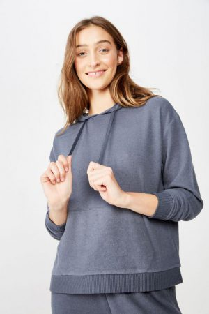 Cotton On Sweaters & Cardigans | Womens Supersoft Lounge Hoodie Iron