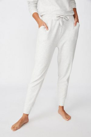 Cotton On Sweatpants | Womens Supersoft Slim Fit Pant Soft Grey Marle