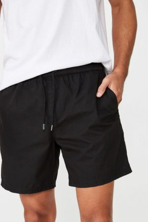 Cotton On Swim Shorts | Mens Hoff Short True Black
