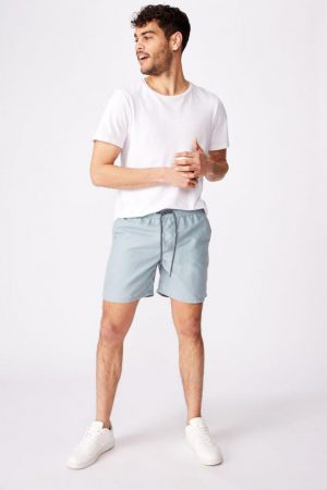 Cotton On Swim Shorts | Mens Hoff Short Vintage Beach Blue