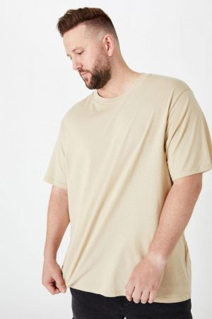 Cotton On T-Shirts | Mens Bg Essential Skate Tee Stone Clay