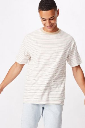 Cotton On T-Shirts | Mens Dylan Tee Soft Sand