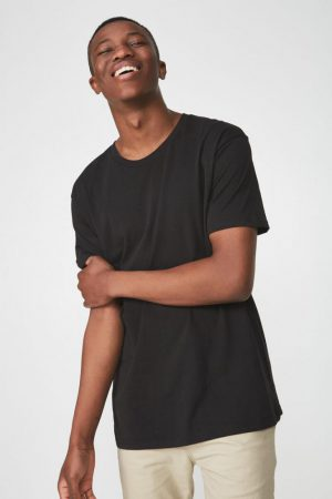 Cotton On T-Shirts | Mens Essential Skate Tee Black