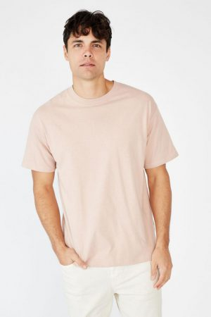 Cotton On T-Shirts | Mens Essential Skate Tee Dirty Pink