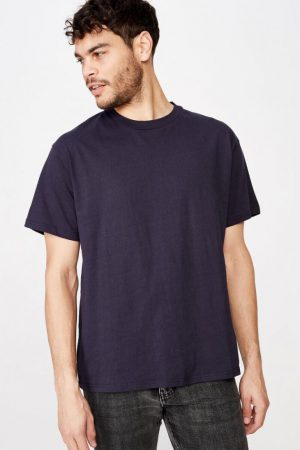 Cotton On T-Shirts | Mens Essential Skate Tee Ink Navy