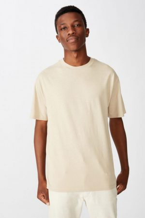 Cotton On T-Shirts | Mens Essential Skate Tee Stone Clay