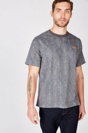 Cotton On T-Shirts | Mens Festival Tee Washed Black/Slate Stone/Daschund Brown/Jungle Kha