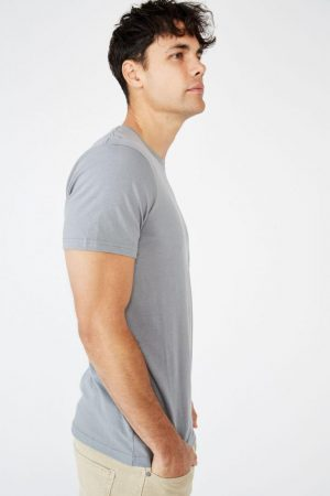 Cotton On T-Shirts | Mens Washed Pocket Tee Washed Teal