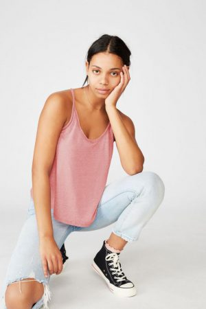 Cotton On Tanks & Camis | Womens The Dillon Cami Rose Wine