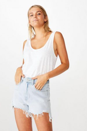 Cotton On Tanks & Camis | Womens The Relaxed Scoop Tank White