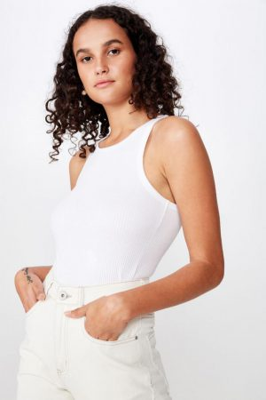 Cotton On Tanks & Camis   Womens The Turn Back Tank White