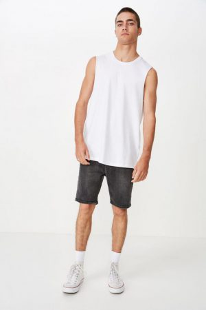 Cotton On Tanks & Singlets | Mens Essential Muscle White