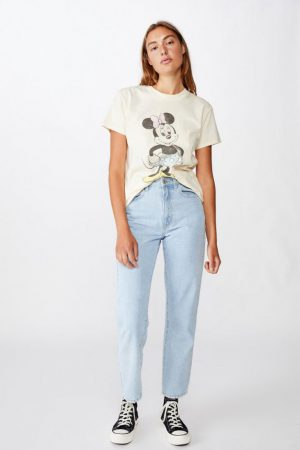 Cotton On Vintage | Womens Classic Mickey And Co T Shirt Lcn Dis Minnie Vintage/Sugar Cookie