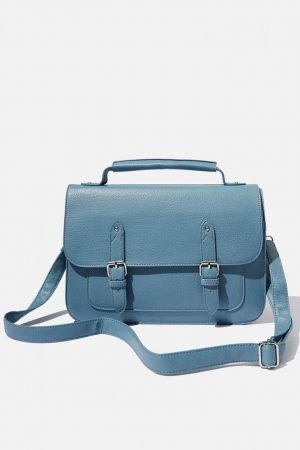 Cotton On Bags | Womens Milton Satchel Bag Petrol Blue