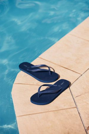 Cotton On Flip Flops | Womens Rubi Thong Navy