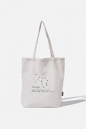 Cotton On Bags | Mens Foundation Online Exclusive Star Sign Tote Virgo
