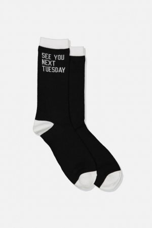 Cotton On Socks | Mens Socks See You Next Tuesday!